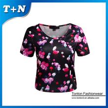 customized cheerleading women dressy custom crop top plus size