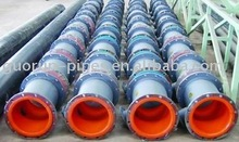rubber lined pipe for chemical oil & gas transportation
