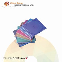 High quality customizable color PS material single 5.2mm slim CD case