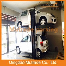 Home Garage Used Two Post Hydraulic Car Lift Auto Parking System on Sale