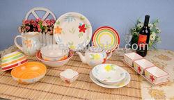China wholesale smart fashionable hotel restaurant crockery ceramic tableware