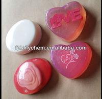 Natural deodorant Transparent handmade heart shape Soap