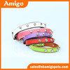 Wholesale high quality faux leatherJewelry pearl collar for dogs