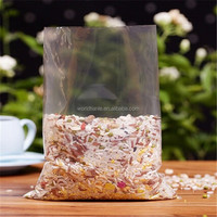 Reusable in kitchen household factory cheap food rice poly flat bag
