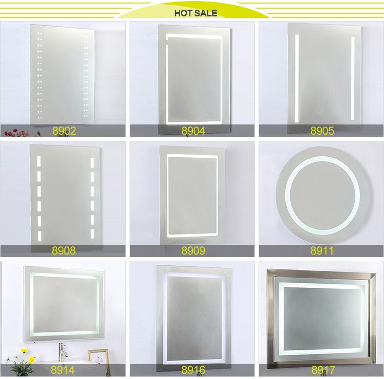 공장 주도 백라이트 거울, 현대적인 욕실 ip44 LED 거울-목욕 거울 ...