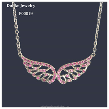 Fahion Silver Jewelry, Angle Wing Pendant in Fashion jewelry