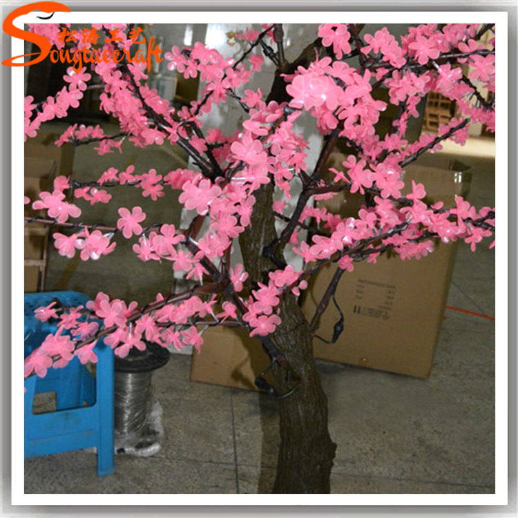 Led decorative trees led light tree all kinds of led for Artificial cherries decoration