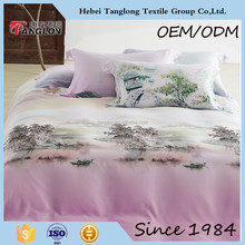2014 Home Use and Twill Style china duvet cover set