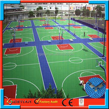 customized color price court floor basket ball new arrival
