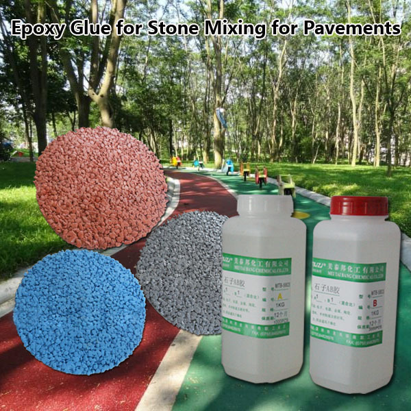 Epoxy Resin Glue For Mixing With Stones For Landscape