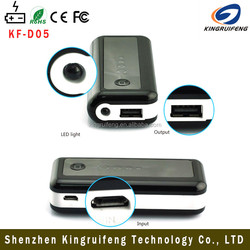 all tablet pc/computer use 5600mAh portable power bank charger mobile rechargeable power bank