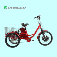 electric cargo tricycle used with 36V 12Ah lead acid battery CE