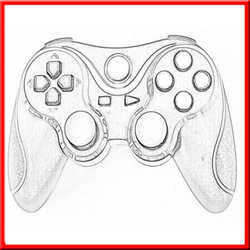 Wholesale New products double vibration controller accessories for ps3