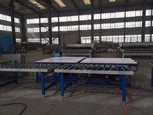 warm edge spacer laying table
