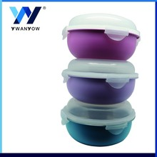 Macarons color small plastic storage container ,food container