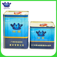 Customized waterproof protective coating for concrete