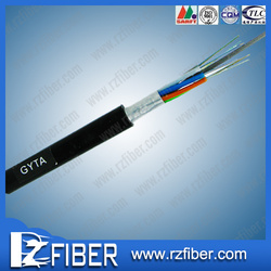 Popular in America and Europe T/S 1300 dmax gyta aerial and duct al tape armored fiber optic cable