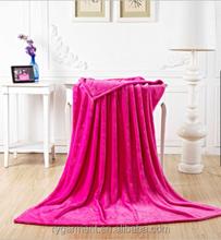 Wholesale polyester fleece children blankets cute baby throw blanket spring autumn blanket