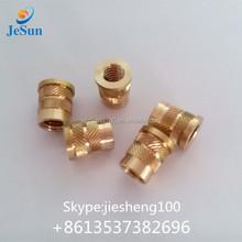 Factory supply m5 brass thread insert with precision thread