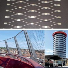 stainless steel Outdoor decoration net/architecture mesh