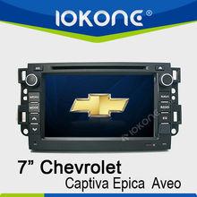 7 gps de radio del automóvil pulgadas para Chevrolet Captiva / Optra / Aveo / Epica