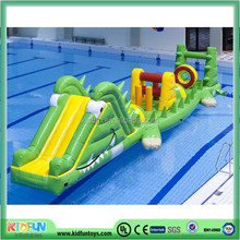 Cutsom Inflatable Water Obstacle Course For Sale