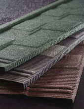 The Stone Coated Aluminum Roofing| Color Stone Coated Metal Roof Shingles| Stone Coated Steel Roofing