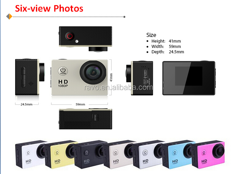 hd 720p action camera user manual