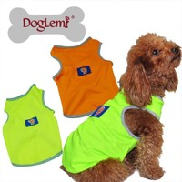 Trade Assurance Summer Cotton Sport Dog Vest / Dog Apparel/ Pet Garment Wholesale