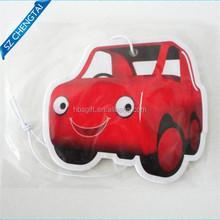 Full color printed paper sanis air freshener for car