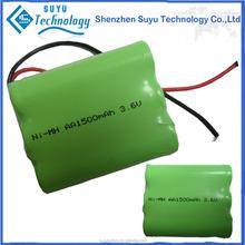SuYu battery for nimh battery/nimh aa 600mah 1.2v battery