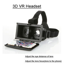 New type Virtual Reality colorcross 3D VR headset for 4.7 to 5.7 inch smart phone