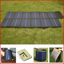 CE certified folding solar charger price for solar laptop charger