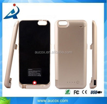 High capacity 10000mah power battery case for iphone 6 plus 5.5 battery case