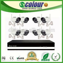 8CH CCTV set wifi IP security economical cctv security camera systems