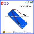 kxd luz de emergencia recargable de iones de litio batería de 12v 20ah 18650