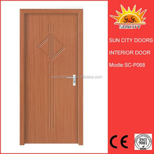 The new model Pvc door with mdf 6mm thickness SC-P068
