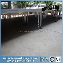 RK aluminum plywood stage.concert stage . portable collapsible stage