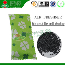 Activated carbon sachet used as deodorant to remove odor