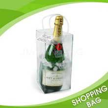 Fashionable Manufacture Clear PVC Custom Wine Bag