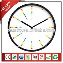 el mejor diseño pequeño reloj de cuarzo dibujos animados de la pared imágenes de reloj