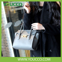 Pig Snout design Vintage Pu Leather handbag luxury women's tote bag wholesale