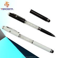 Swarovski tinh thể bút với con trỏ laser& bút cảm ứng hoặc bút bi