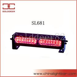 Emergency Led Dash Deck Warning Lighting 12V Strobe Lights SL681