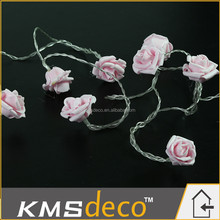Wedding party decoration supplies romantic led flower string fairy lights
