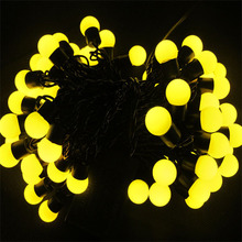 High quality solar ball led lights plastic flower ball seated white large outdoor christmas balls