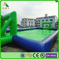 2015 water park inflatable soap soccer field for slae/ China inflatable game