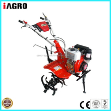 Italy mini tiller powered by 4.2kw diesel engine for farming/garden/cultivation/agriculture