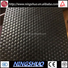 Factory of wholesale anti slip durable colth inserted rubber cow mat
