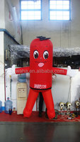 red inflatable fruits inflatable vegetables